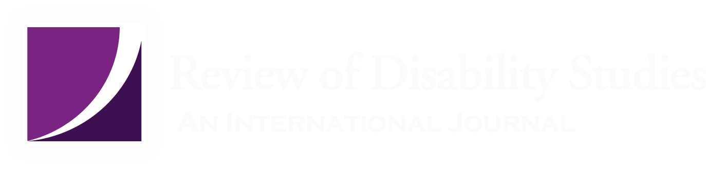 Call for Papers: Special Forum Summer 2019 'Disability and